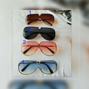 Accessories - Sunglasses Women/Men 2018 New Half Frame sunglasse